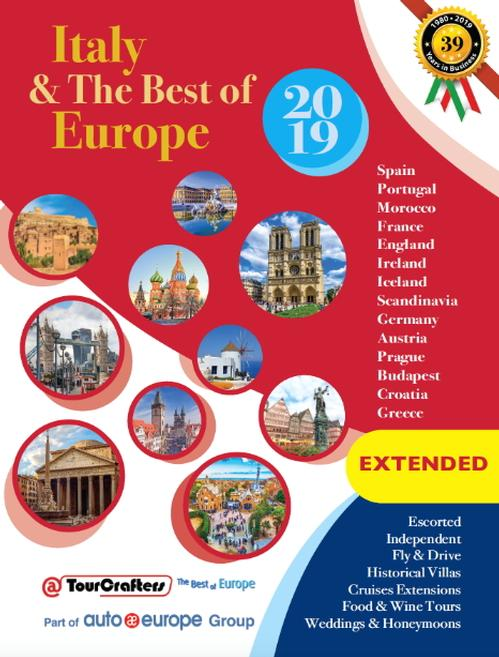 Italy & the Best of Europe 2019 EXTENTED BROCHURE